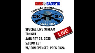 Oklahoma Gun Control With Don Spencer of Oklahoma 2nd Amendment Association