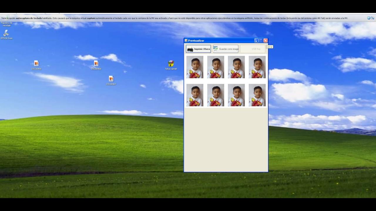 Descargar programa para crear fotos tamaño carnet pasaporte portable ...