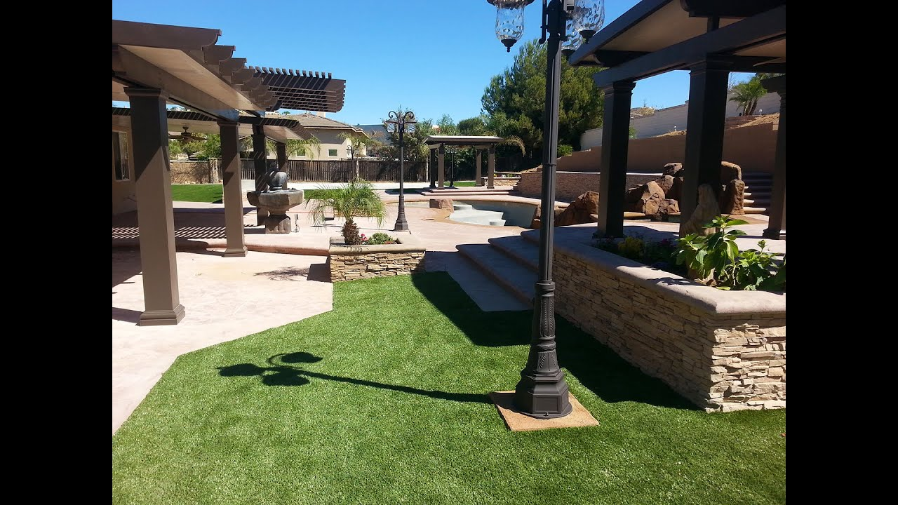 Dream Backyard By Creation Builders Inc Youtube