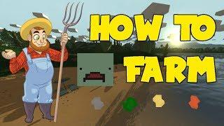 Unturned Farming Guide!!!