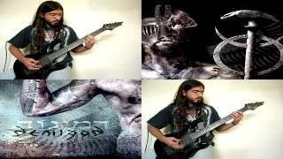 Behemoth - Demigod INSTRUMENTAL COVER (All Guitars)