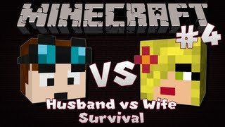 Minecraft | Husband VS Wife SURVIVAL | Episode 4 | An Abundance Of Points!