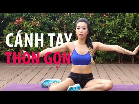 Bài tập để có cánh tay thon gọn | Hana Giang Anh