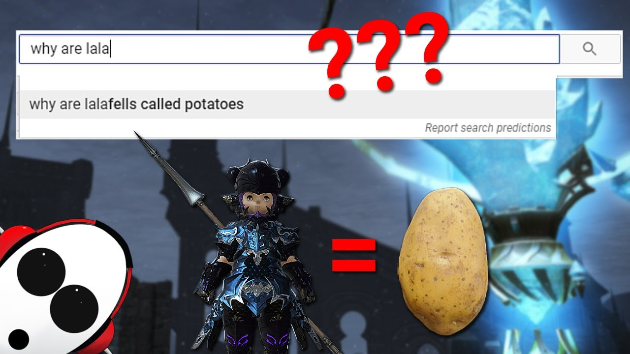 Why Are Lalafells Called Potatoes Ffxiv New Player Searches For Answers Youtube