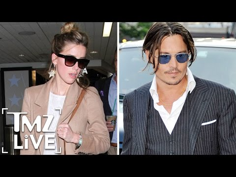 Amber Heard Calls BS on Johnny Depp (TMZ Live)