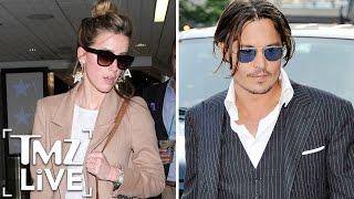Amber Heard Calls BS on Johnny Depp   TMZ Live