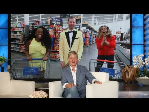Ellen Sends Fans on a Scavenger Hunt in Aisle Make You Rich!