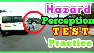 Hazard Perception Test Practice  2018