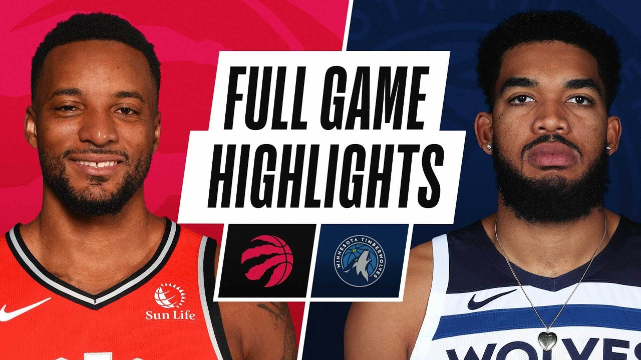 RAPTORS at TIMBERWOLVES | FULL GAME HIGHLIGHTS | February 19, 2021