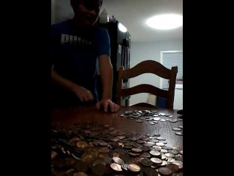 Counting over 200 dollars in change