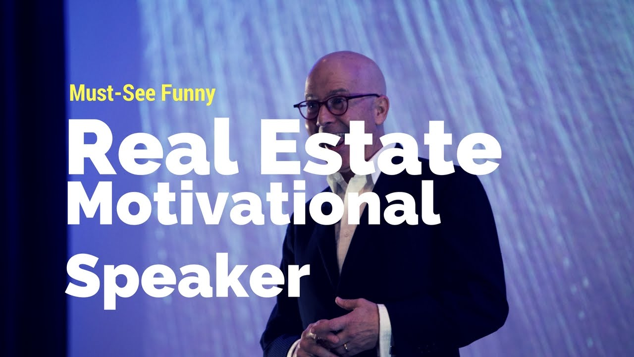 Real Estate Motivational Speaker | Funny Brad Montgomery ...