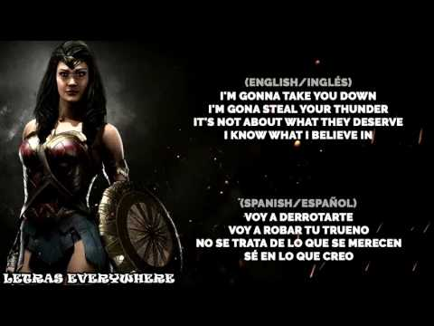 Nerd Out - Wonder Woman Song 'What I Believe In' (Lyrics)