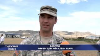 Khaan Quest 2015 News Story  - NTV Mongolia