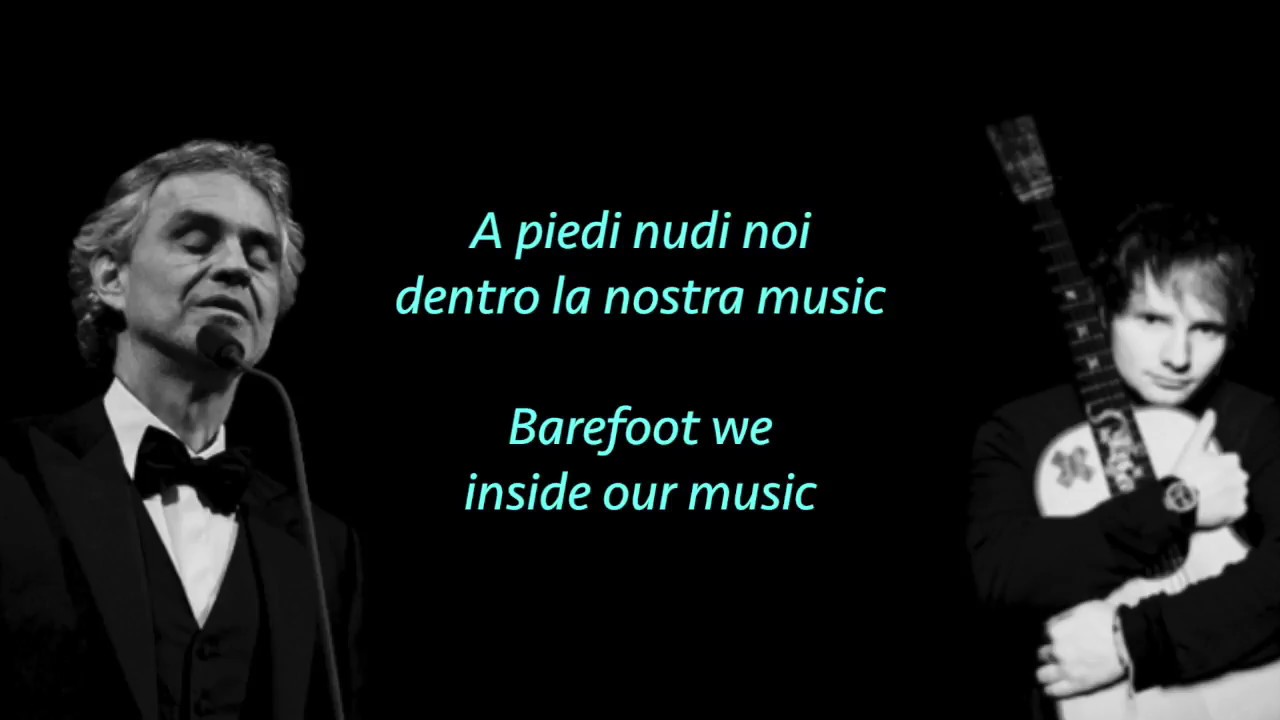 Ed Sheeran Perfect Symphony Ft Andrea Bocelli Lyrics Translate Youtube