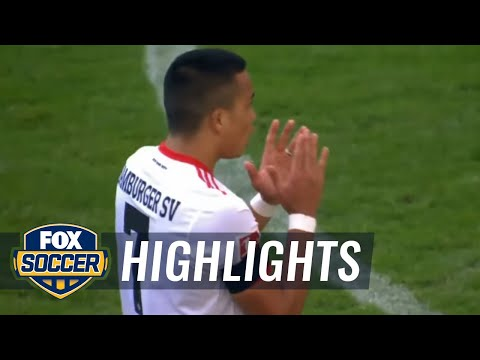 Hamburg SV vs. FC Augsburg | 2017-18 Bundesliga Highlights