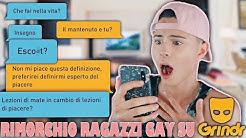 👨❤️👨CI PROVO CON RAGAZZI GAY SU GRINDR!👨❤️👨 *ME LO ESCONO TUTTI!😱*