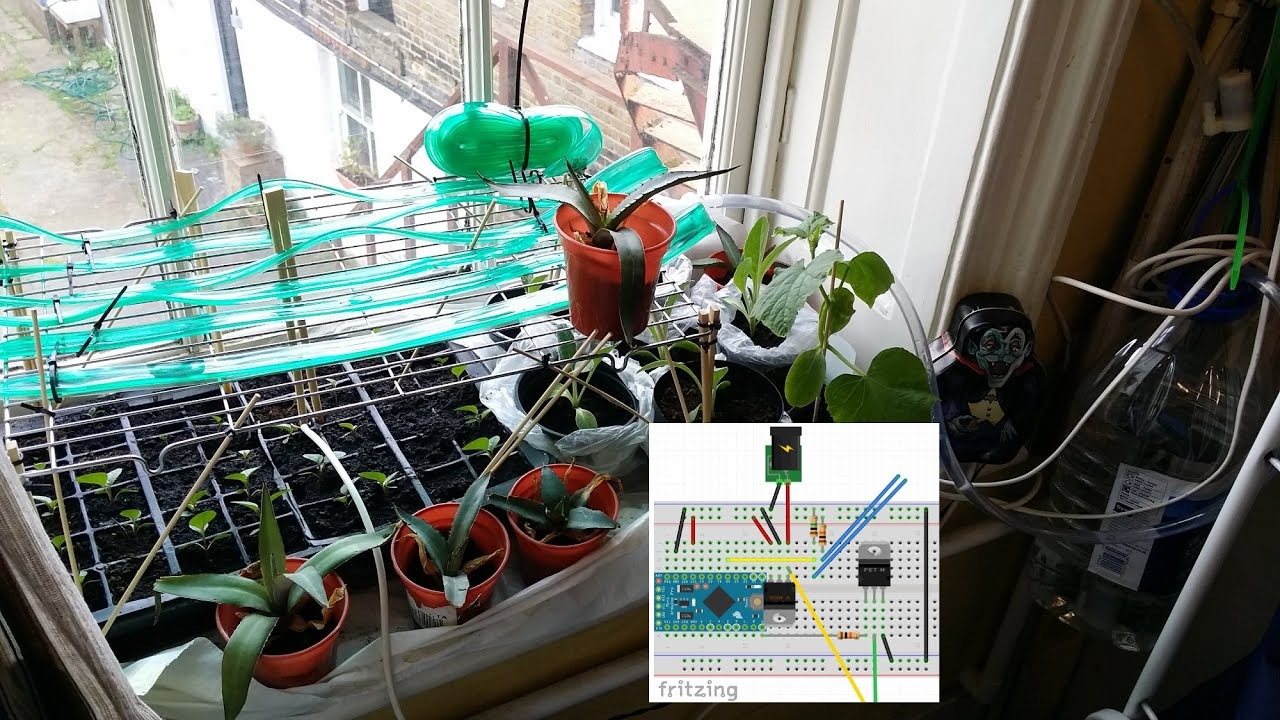 Arduino Plant Watering System Tutorial Youtube