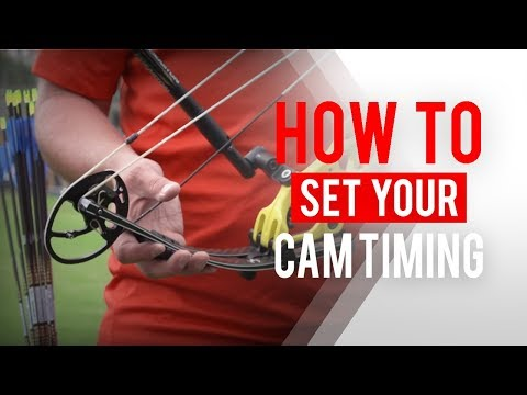 How to set your cam timing on a compound bow for archery