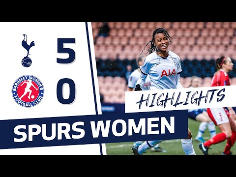 HIGHLIGHTS | SPURS WOMEN 5-0 BARNSLEY | FA CUP
