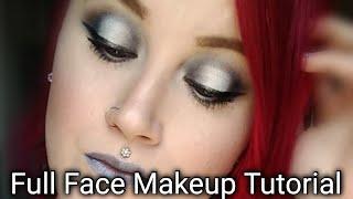 Full Face Makeup Tutorial ft. Alien Palette by Jeffreestar Cosmetics/ OPEN GIVEAWAY