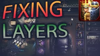 FIXING YOUR LAYERS #FIXMYLAYER EVERY MONDAY (CLASH OF KINGS)