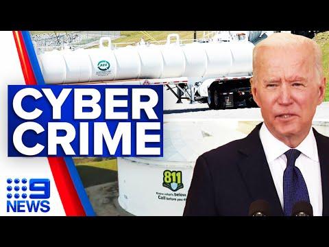 FBI confirms Russia crippled pipeline | 9 News Australia