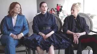 Telerama interview Léa Seydoux, Amira Casar, Aymeline Valade Yves Saint Laurent Cannes