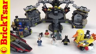 LEGO BATMAN MOVIE 70909 BATCAVE BREAK IN! Review NEW 2017 Set!