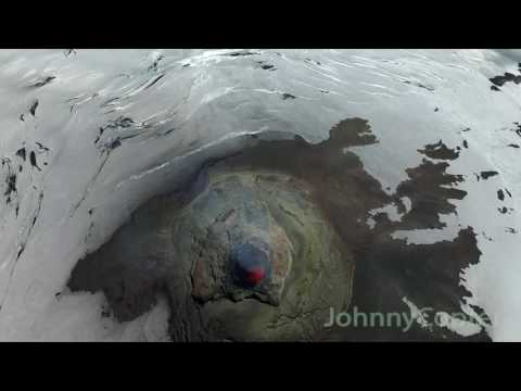Volcano Villarica Drone Video   JohnnyCopter com