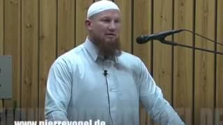 lustiger Vortrag Pierre Vogel spricht Arabisch, marokkanisch, ägyptisch, tunesisch, abu Hamza, islam