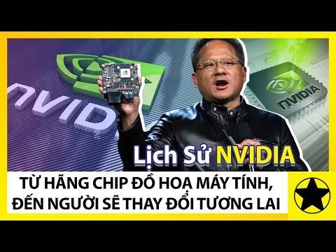 """NVIDIA - Từ Hãng Chip Đồ Hoạ Máy Tính, Đến """"Gã Khổng Lồ"""" Sẽ Thay Đổi Tương Lai Công Nghệ"""