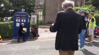 Doctor Who Series 10 Filming (Rehearsal Scene)