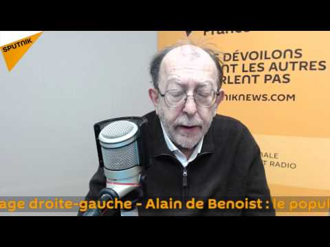Alain de Benoist : le populisme et le clivage droite-gauche