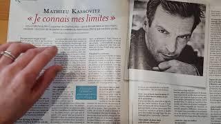 ASMR Le magazine Femina mode, santé et cuisine. Chuchotement, tracing et tapping