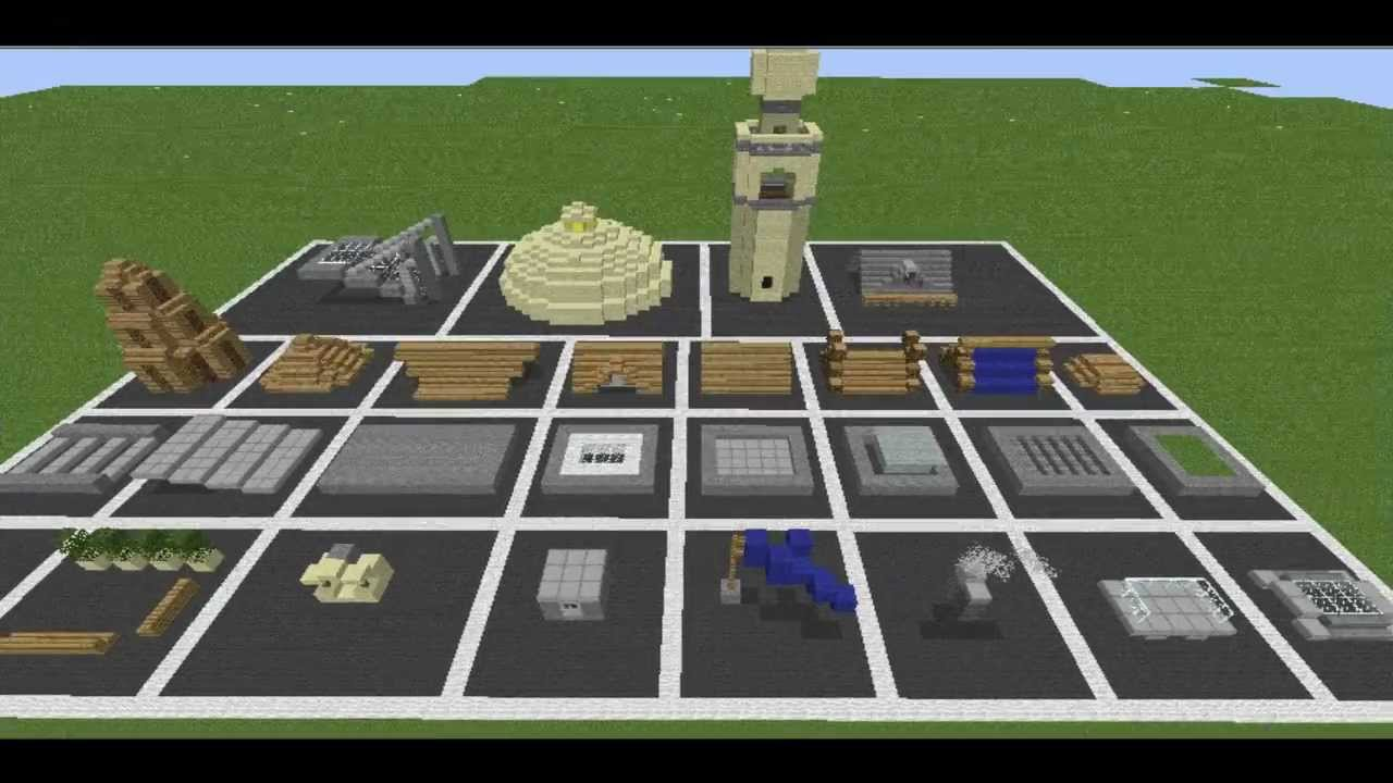 Minecraft Roof Collection Youtube