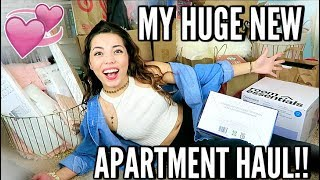 NEW HUGE APARTMENT HAUL!! BIGGEST EVER SEEN! Target, UO, TJ Max, Thrifting & More! HOME DECOR  OMG 😱