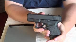 bersa bp9cc vs glock 26 size feature comparison