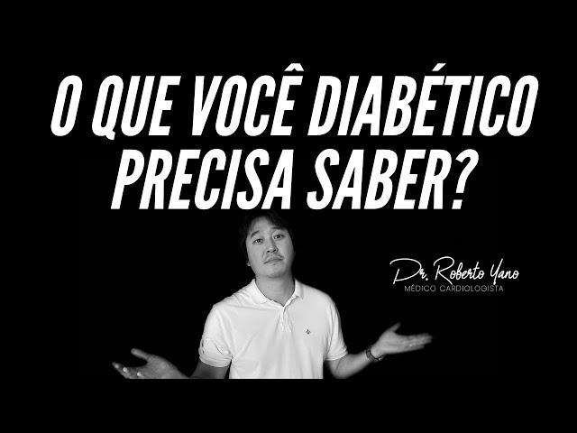 Diabetes o que você precisa saber?