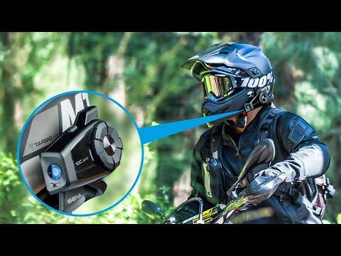 SENA 10C EVO: Мотогарнитура с 4K камерой. Обзор, тесты видео и звука. Установка на шлем.
