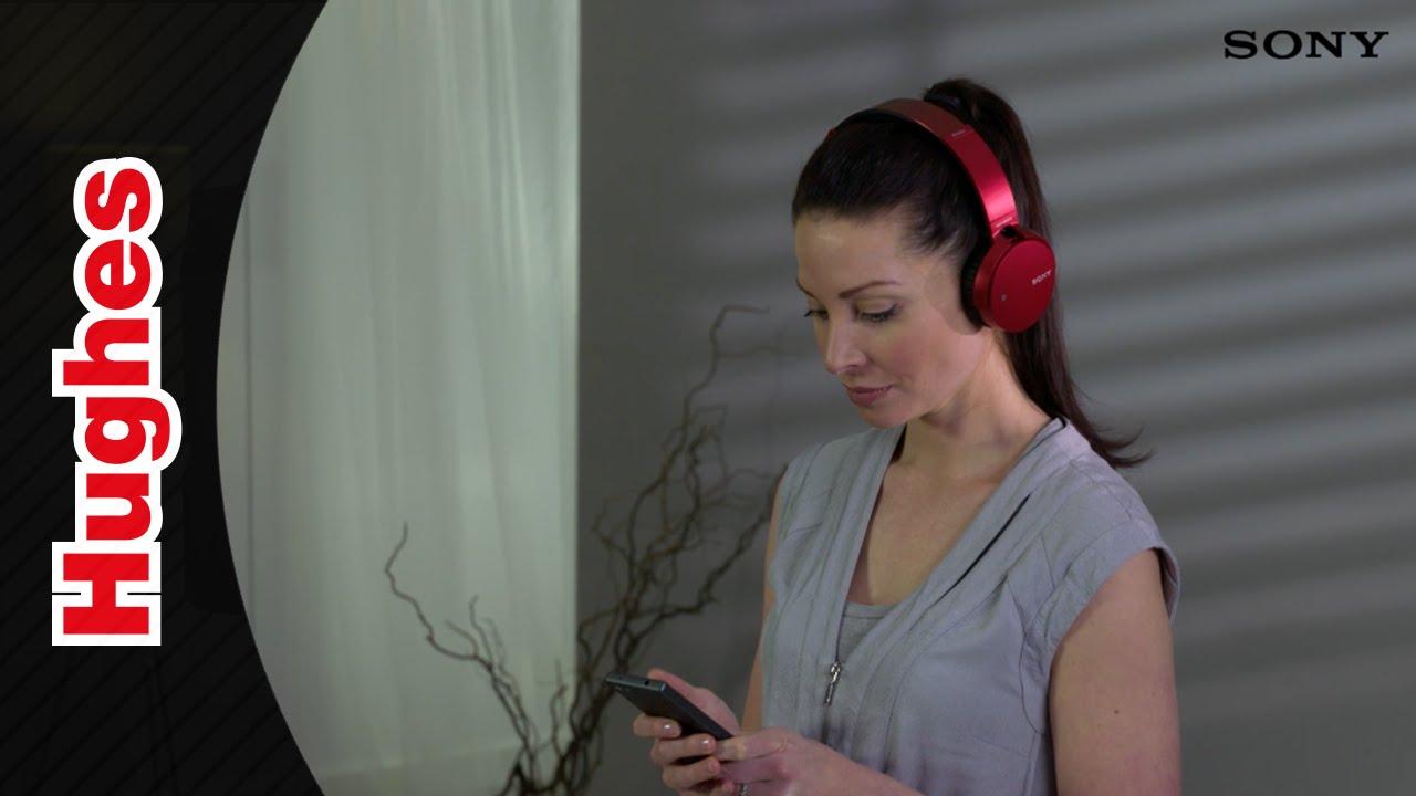 Sony Mdr Xb650bt Extra Bass Bluetooth Over Ear Headphones Youtube