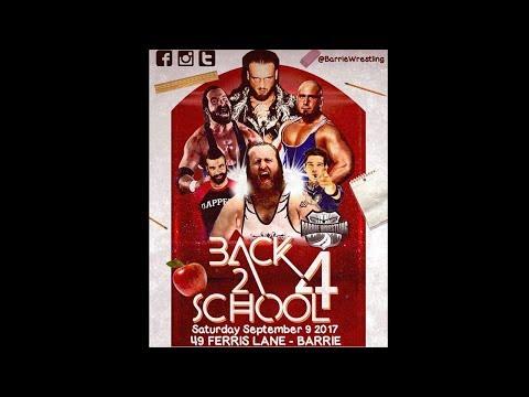 Barrie Wrestling Back to School 4