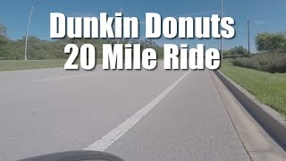 20 mile Dunkin Donuts Ride shot with GoPro
