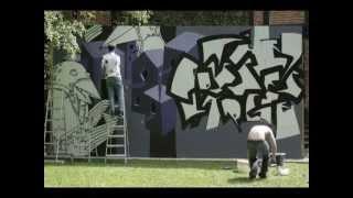 The Posse's Large (bird House) Graffiti / Street A