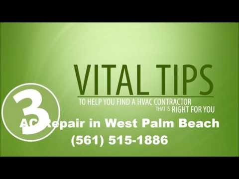 AC Repair West Palm Beach Fl - Best A C Repair 561-515-1886