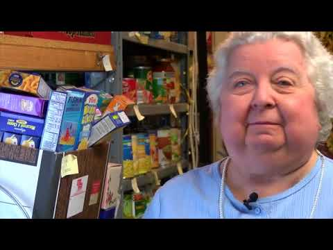Cancer won't stop woman who runs food pantry