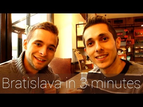 Bratislava in 3 minutes | Travel Guide | Must-sees for your