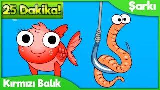 Kırmızı Balık Gölde ve 11 Adet Çocuk Şarkısı (25 Dakika)