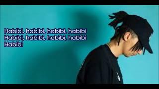 Ghali - Habibi - Karaoké (lyrics)