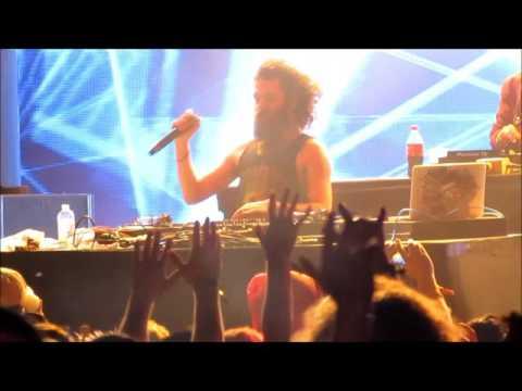'The Gaslamp Killer' Mixes LIVE @ Movement Detroit, 5-29-2017