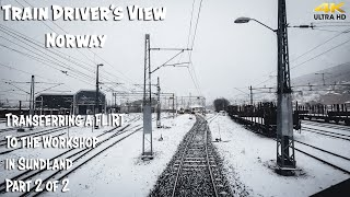 Фото Train Driverand39s View Flirting To The Workshop In Sundland Part 2 Of 2